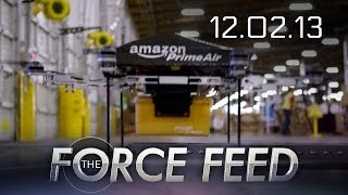 Force Feed - Amazon Drone Future, TWD Season 2, SOE Deals