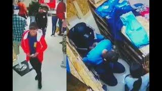 ¿Reconoce a estos dos ladrones Vea cómo se llevan hasta la ropa de un almacén en Bogotá