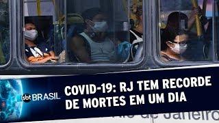 Rio de Janeiro ultrapassa a marca de 3 mil mortes pelo novo coronavírus | SBT Brasil (19/05/20)