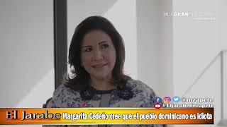 Margarita Cedeño cree que el pueblo dominicano es idiota | El Jarabe Seg-1 01/06/20