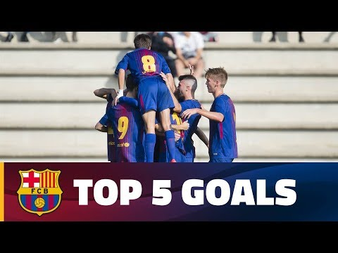 FCB Masia-Academy: Top 5 goals (18-19 November)