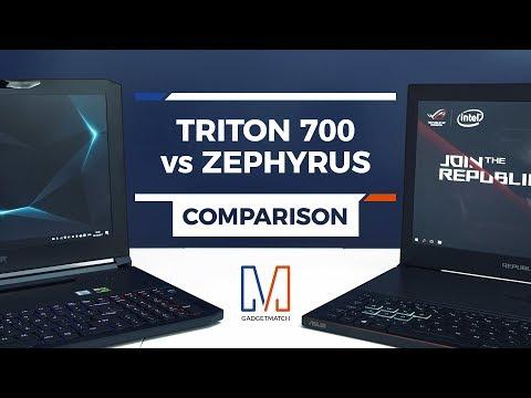 Acer Predator Triton 700 vs ASUS ROG Zephyrus