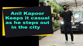 Anil Kapoor Keeps it casual as he steps out in the city - BOLLYWOODCOUNTRY