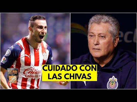 LAS CHIVAS y VUCETICH SUBEN EL LISTÓN. El Guadalajara venció al Puebla en Liga MX | Futbol Center