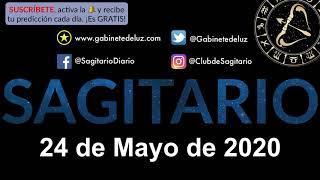 Horóscopo Diario - Sagitario - 24 de Mayo de 2020