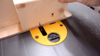 Sled for DeWalt FlexVolt table saw  (sponsored)