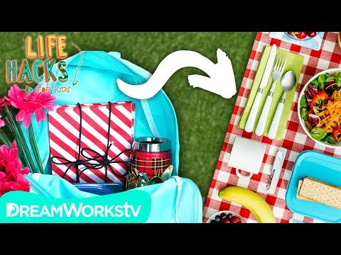 connectYoutube - Picnic Backpack + Other Winter to Spring Hacks | LIFE HACKS FOR KIDS