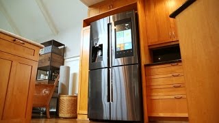 Samsung's 6,000 smart fridge keeps watch over your leftovers