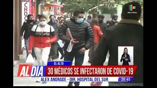 30 médicos se infectaron de COVID-19 en El Alto