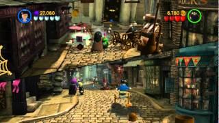 Прохождение LEGO Harry Potter Years 1-4(PC) Часть 1
