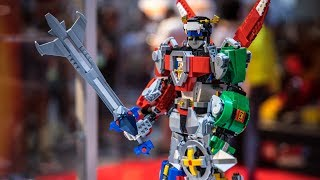 How the LEGO Voltron was Designed!