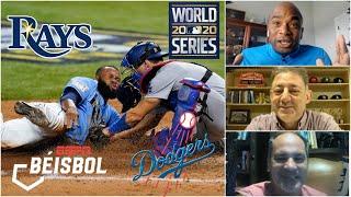 SERIE MUNDIAL Rays vs Dodgers. 'Los bloopers han ganado partidos': Omar Vizquel | ESPN Béisbol