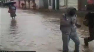 Fuerte lluvias se registra en Santa Cruz del Quiché