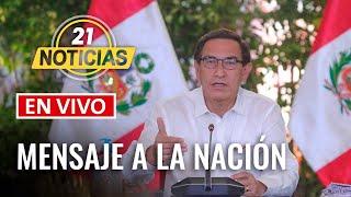 Mensaje a la nación del presidente Vizcarra | Coronavirus en Perú