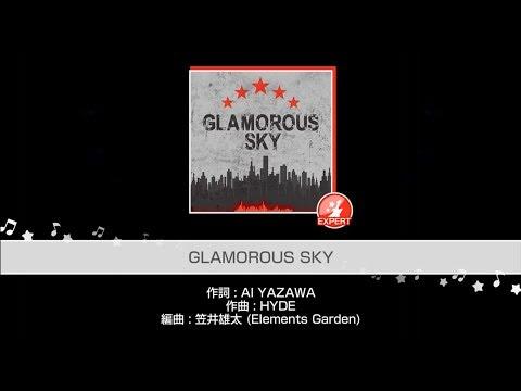 connectYoutube - Poppin'Party『GLAMOROUS SKY』(難易度:EXPERT)プレイ動画