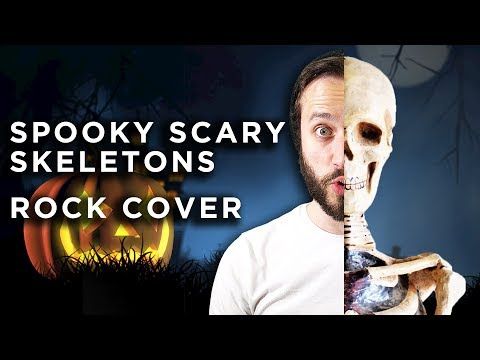 connectYoutube - Spooky Scary Skeletons - METAL COVER VERSION (Jonathan Young & ToxicxEternity)