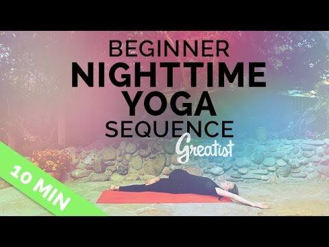 Ten Minute Yoga for Bedtime