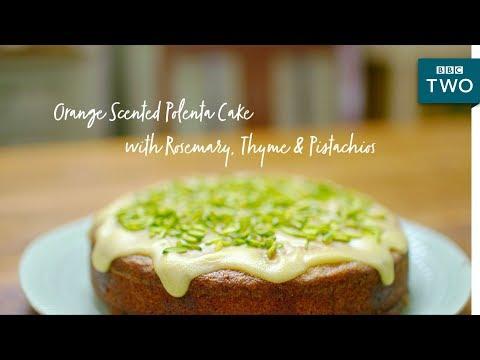 Orange Scented Polenta Cake | Nadiya's British Food Adventure: Episode 4 - BBC Two