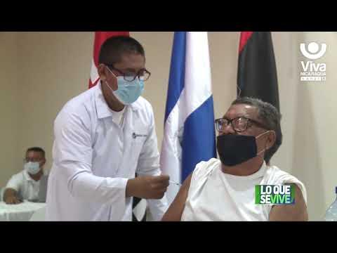 Continúa aplicación de segunda dosis de Covishield en Managua