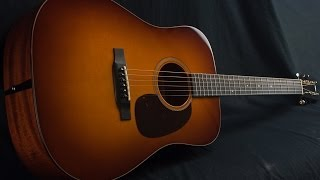 Collings D1A Sunburst Dreadnought Acoustic Guitar Demo with Joseph Terrell of Mipso