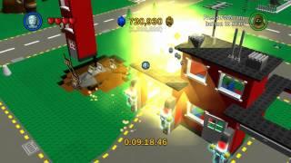 Let's Play Lego Star Wars: The Complete Saga - Bonus Room 5 - Lego City