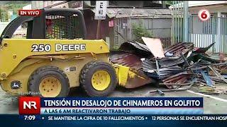 Desalojan 40 chinamos del depósito libre en Golfito