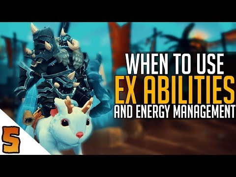 connectYoutube - EX Abilities and Energy Management