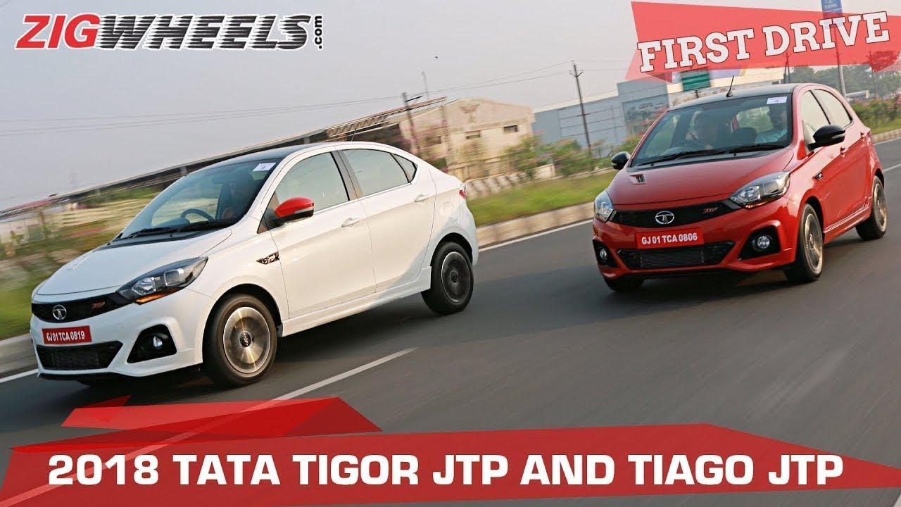 Tata Tiago JTP & Tigor JTP Review | Desi Pocket Rockets!  | ZigWheels.com