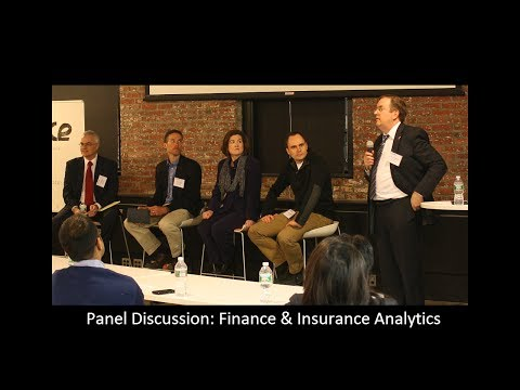 @AnalyticsWeek Panel Discussion: Finance and Insurance Analytics