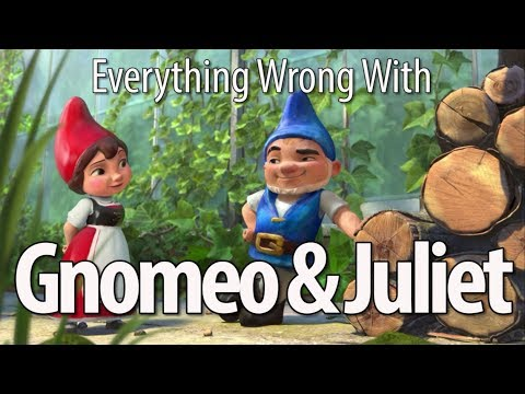 connectYoutube - Everything Wrong With Gnomeo & Juliet