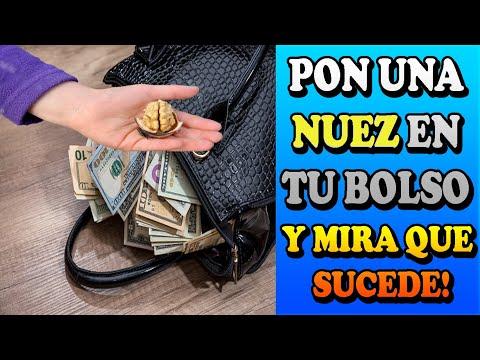 Pon una nuez en tu bolso  si necesitas dinero urgente y mira que sucede