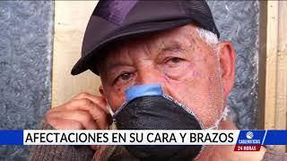 Vendedor ambulante agredido por los policías no quiere que sean sancionados los uniformados
