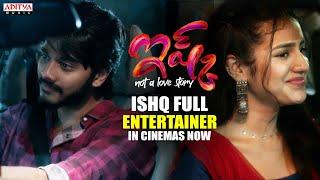 Ishq Full Entertainer Promo | Teja Sajja, Priya Prakash Varrie | In Cinemas Now - ADITYAMUSIC