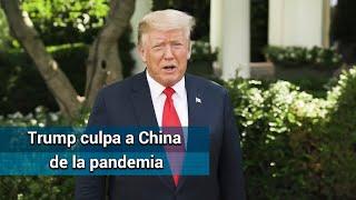 Trump asegura que EU se recuperará pronto de la