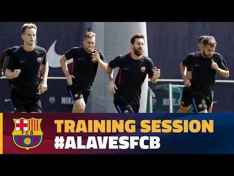 Recovery session after La Liga opener