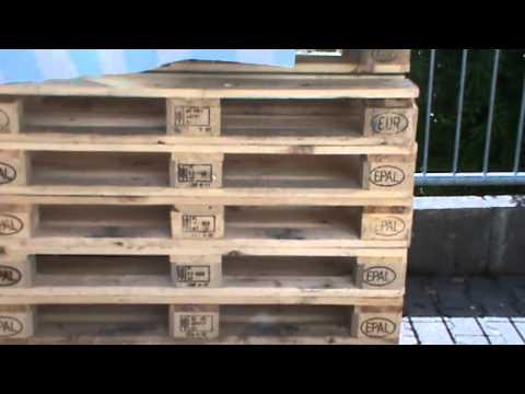 Youtube to mp3 diy eine bank aus europaletten bauen for Europaletten sitzlounge