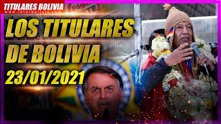 ???? LOS TITULARES DE BOLIVIA ???????? 24 DE ENERO 2021 [ NOTICIAS DE BOLIVIA ] Edición narrada ????