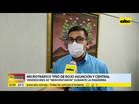 Microtráfico tiñó de rojo Asunción y Central