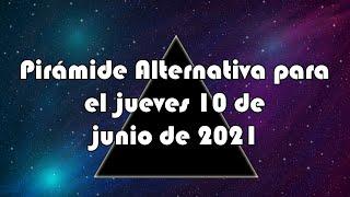 Lotería de Panamá - Pirámide Alternativa para el jueves 10 de junio de 2021