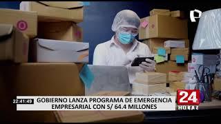 Gobierno lanza programa de emergencia para reactivar a casi 2,000 mipymes