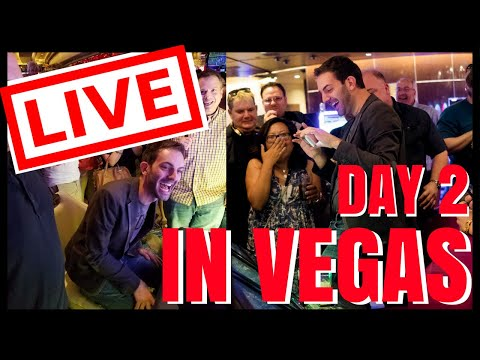 connectYoutube - 🔴 LIVE Casino Playing in VEGAS ✦ Can we beat yesterdays? ✦ Slot Machines with Brian Christopher