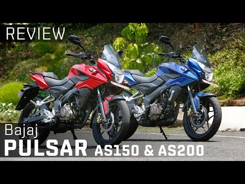 Bajaj Pulsar AS150 & AS200 :: Review :: ZigWheels
