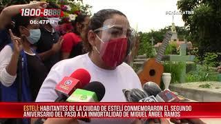 Conmemoran en Estelí a Miguel Ángel Ramos, el héroe de la paz – Nicaragua