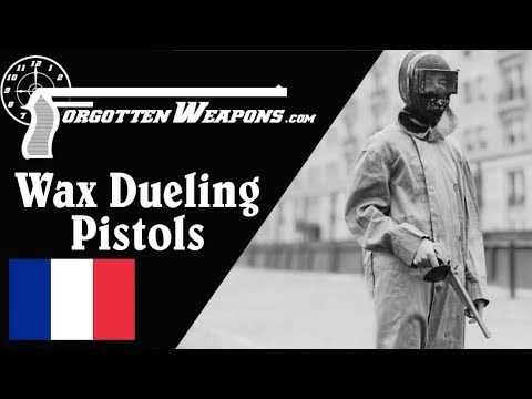 connectYoutube - Lepage Wax-Bullet Dueling Pistols