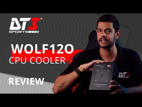 CPU Cooler RGB DT3sports! Conheça o Wolf 120