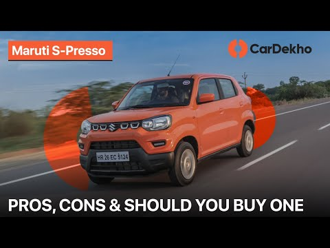 Maruti Suzuki S-Presso Pros & Cons | Should You Buy One?