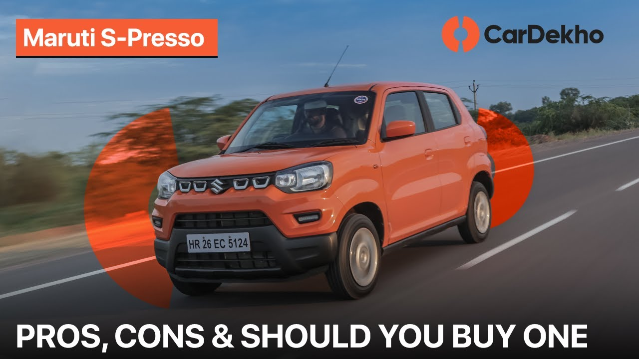 Maruti Suzuki S-Presso Pros & Cons | Should You Buy One?