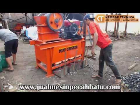 Jual Mesin Pemecah Batu Mini atau Mini Crusher Machine