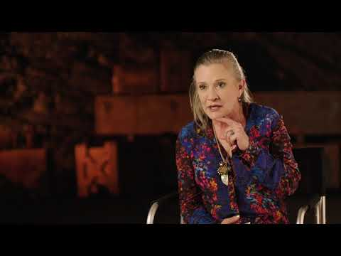Star Wars: The Last Jedi: Carrie Fisher Behind the Scenes Official Movie Interview