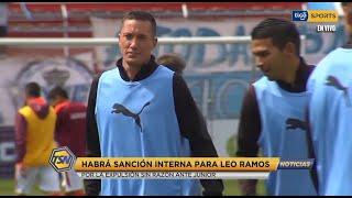 #TSNoticias???? leo 'El tanque' Ramos no podrá estar en tres encuentros más del torneo Sudamericano.